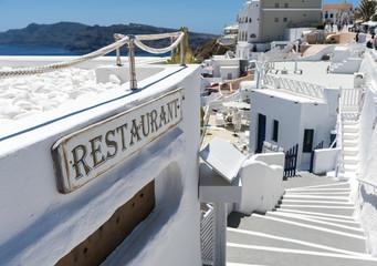 Restaurant in Oia - Santorini