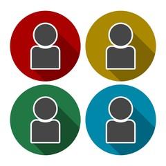 Male avatar profile picture icon