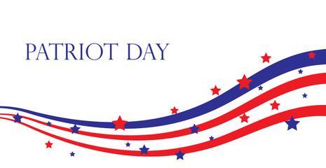 Patriot Day USA, American Patriot Day. Vector illustration.