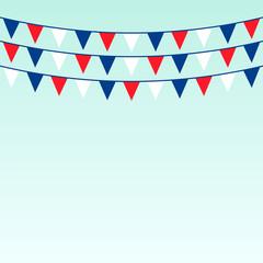 Celebrate flags set