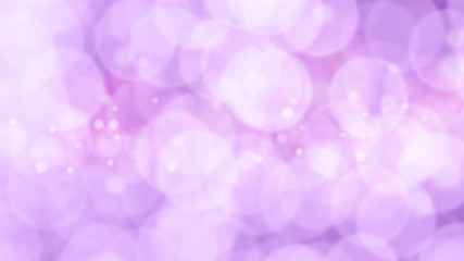 purple pastel bokeh lights. defocused lights background.