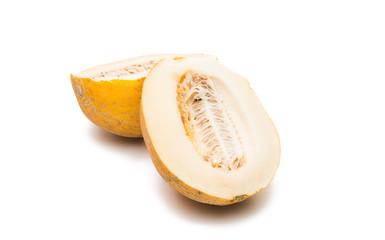 ripe melon isolated
