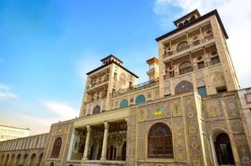 The Iconic Golestan Palace in Tehran, Iran