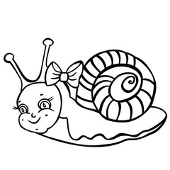 Cute Snail