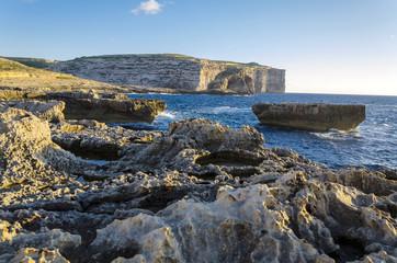 Dwejra Bay, Island of Gozo, Malta