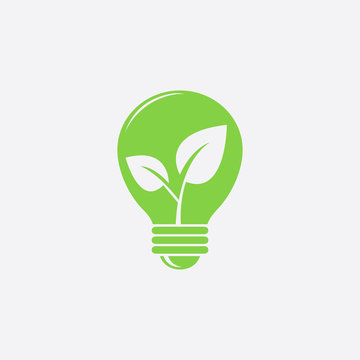 Ecology bulb icon