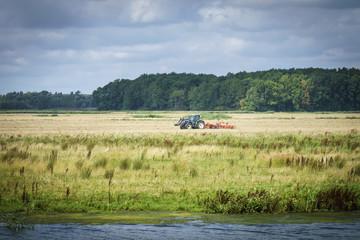 View across the biesbosch