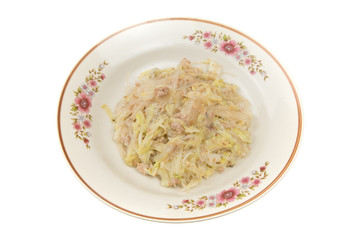 Fried Vermicelli with Pork