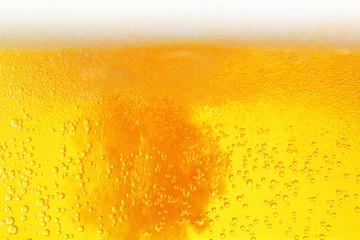 Beer close-up background