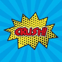 splash comic isolated icon vector illustration design