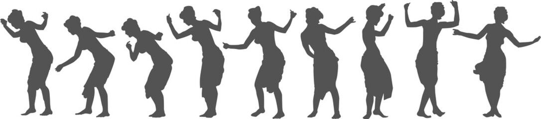 Dancing Girl Sequence