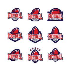 Football Badge Logo
