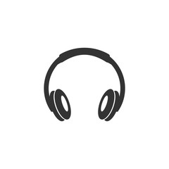 Vector illustration of headphone  or Earphone Headset