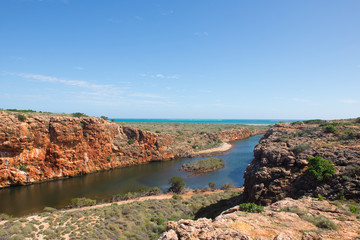 Yardie Creek Cape Range Ningaloo Reef Australia