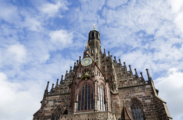 Frauenkirche (Church of Our Lady) in Nuremberg, Bavaria, Germany