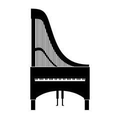 Claviharp, musical instrument