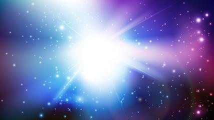 Obraz kosmos tło wektor - fototapety do salonu