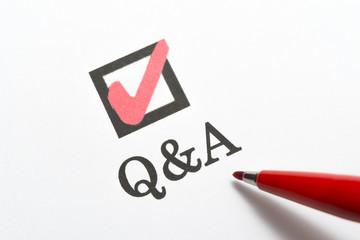 Q&A 質問と答え