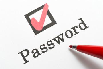 Password パスワード