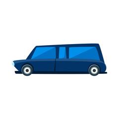 Limousine Toy Cute Car Icon