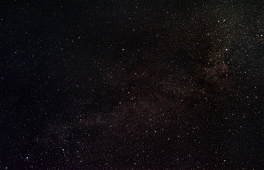 Portion of our Milky Way galaxy between the constellations Swan and Cassiopeia