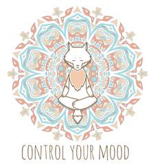 Meditative Animals series.