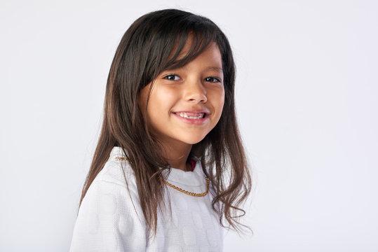 adorable girl portrait