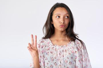 fun expression teenager