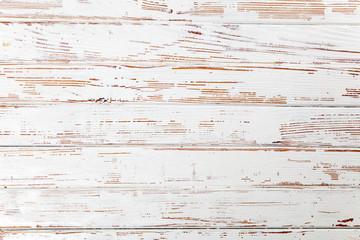 Fotoväggar - White wooden background