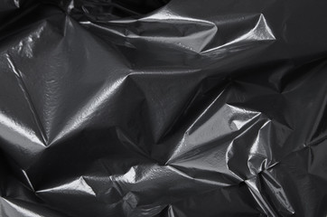 A full page of polythene garbage bag plastic texture