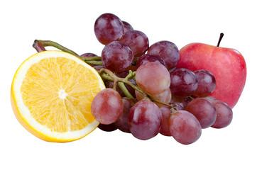 fresh fruit isolate photo on white background