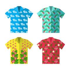 Aloha Hawaiian shirt for happy carefree vacation