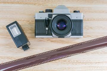 Analoge Retro-Fototechnik aus Zeiten der ehemaligen DDR