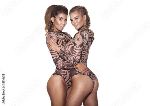 89d1d464bde Two sexy girls posing.