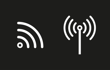 Wi-Fi vector icon.