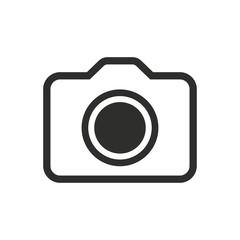 Photo - vector icon.