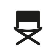 Director chair - vector icon.