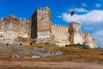 Citadel of Ayasuluk in Selcuk. Turkey