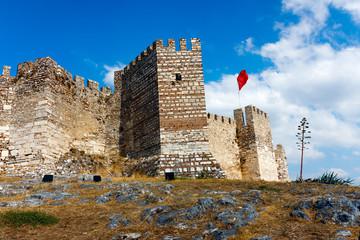 Ayasuluk Castle in Selcuk. Turkey