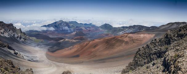 Haleakala volcano Maui panorama