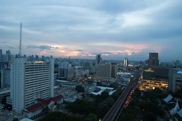 Futuristic metropolis, Bangkok ,Thailand