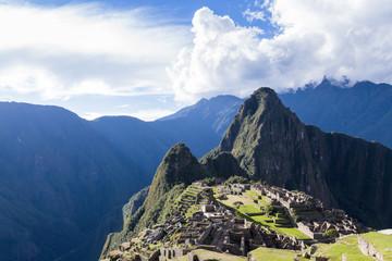 Machu Pichu in Peru