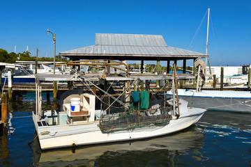 Fishing Boats at Marina