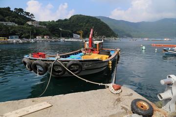 Fishing boat in a Harbour, Tongyeong, Korea, Republic of.