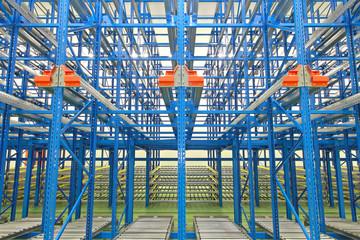 Gravity Storage Shelves