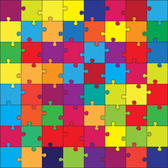 vector puzzle for kid