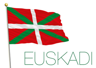 basque country flag, euskadi, regional flag, spain