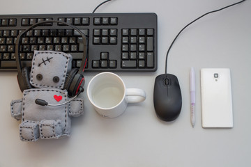 Soft Robot Toy Helpdesk objects