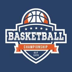Sport Basketball Logo. American style.