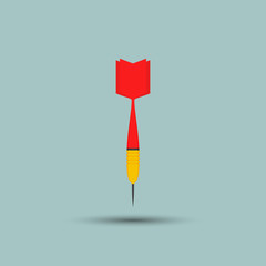 Darts icon - Vector